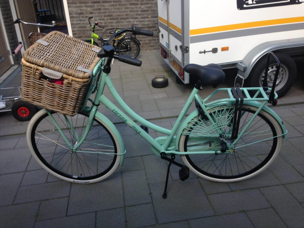 Cortina fiets